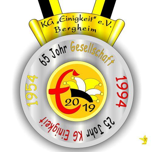 Orden der Session 2018/2019 der KG Einigkeit e.V.